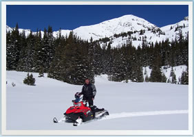 Private Beaver Creek Snowmobile Tours